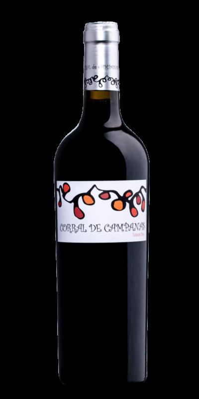 Botella Corral de Campanas. Tinta de Toro