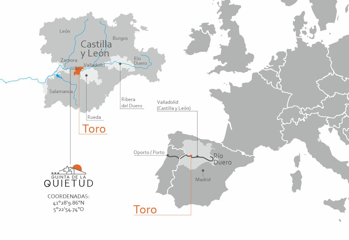 geolocalización Quinta de la Quietud