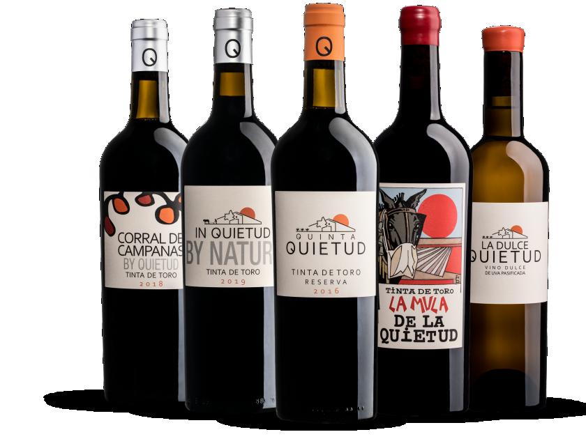 Familia de vinos Quinta de la Quietud